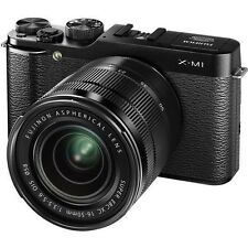 """NEW Fujifilm Compact System 16MP Camera Kit with 16-50mm Lens/3"""" LCD Screen"""