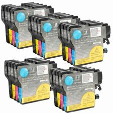 20-PACK Ink Cartridges LC-61 for Brother DCP 145C 165c 195C 197C 365CN Printer