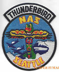 US NAVAL AIR STATION NAS SEATTLE SAND POINT PATCH USS NAVY PIN UP THUNDERBIRDS