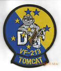 VF-213 BLACK LIONS F14D TOMCAT PATCH US NAVY USS NAS PIN UP CAG WING GIFT WOW