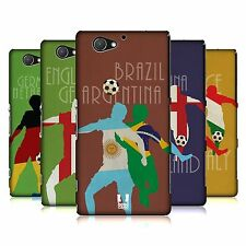 HEAD CASE DESIGNS FOOTBALL RIVALRIES HARD BACK CASE FOR SONY PHONES 4