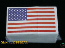 100 HELMET STICKERS DECAL USA FLAG 2X1 MAD IN US COAST GUARD VETERAN GIFT WOW