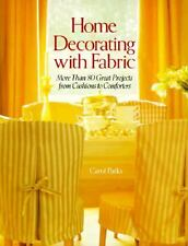 Book, Home Decorating with Fabric More Than 80 Projects Cushions to Comforters