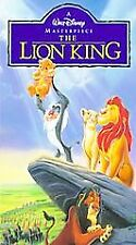 Disney  The Lion King (VHS, 1995)  Masterpiece  SEALED  Clamshell