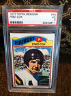 1977 TOPPS MEXICAN # 46 FRED COX PSA VG-3 CARD...........-------TOUGH CARD