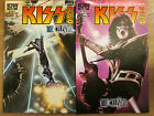 2x KISS SOLO #3 The Celesital; Ace Frehley First print 1:10 variant cover RI