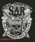 US NAVY SEARCH & RESCUE PATCH SO OTHERS MAY LIVE SAR SWORDS SKULL PILOT AIRCREW