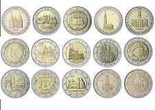 #RM# 5x 2 EURO COMMEMORATIVE GERMANY (2006-2016) -  ALL PIECES - PLEASE CHOOSE