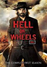 Hell on Wheels: Season 1 (DVD, 2012, 3-Disc Set) AMC Anson Mount, Colm Meaney