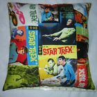New *** Star Trek *** Comics *** Cotton Fabric Pillow     Handmade in the U.S.A.
