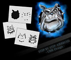 Step by Step Stencil ~~ UMR Airbrush Schablone AS-127 M
