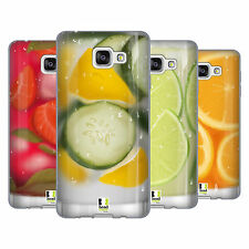HEAD CASE DESIGNS FRESH DRINKS SOFT GEL CASE FOR SAMSUNG GALAXY A7 (2016)