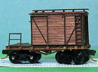 MOW LOGGING CABOOSE N Scale Laser Cut Wood Unpainted Rolling Stock Kit RSL3402