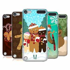 HEAD CASE DESIGNS PAN DE JENGIBRE CASO DURO TRASERO PARA APPLE iPOD TOUCH 5G 6G