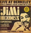 THE JIMI HENDRIX EXPERIENCE Live At Berkeley CD BRAND NEW