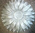 """1/8th"""" abs plastic Sunflower stepping stone mold 2"""" Thick concrete mould"""