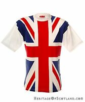 Mens T-Shirt, Tour Collection, Union Jack, Red White and Blue, All Sizes