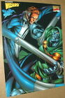 Mr Fantastic Four Vs Dr Doom by Salvador Larroca Marvel Comics Poster