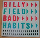BILLY FIELD - Bad Habits LP - N/MINT Vinyl