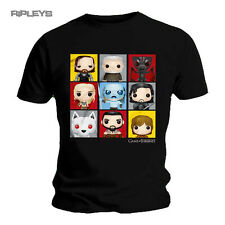 Official T Shirt Game of Thrones ~ Funko Pop! GRID Characters All Sizes