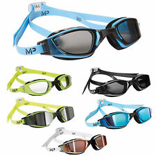 New! Michael Phelps XCEED Mens Competition Swimming Goggles by Aqua Sphere
