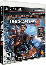 Uncharted 2: Among Thieves (Game of the Year Edition)  (Playstation 3, 2010)