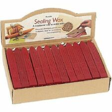 Manuscript Sealing Wax Stick with Wick for Postable Letter Seal Candle - RED