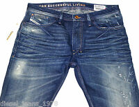 DIESEL SHIONER 74Y JEANS 33X30 100% AUTHENTIC SKINNY FIT TAPERED 0074Y