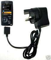 UK Mains Charger For Sony Walkman NWZ-A818 MP3 Player