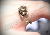 Lolita Lemony Snicket's Unfortunate Events adjustable jaguar magic ring JN6069