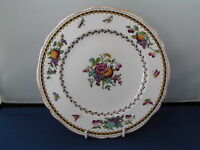 "SPODE ROCKINGHAM ORANGE EDGE 8"" DESSERT PLATE, Y 5194."