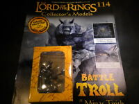 Lord of the Rings Figures - Issue 114 Battle Troll at Minas Tirith - eaglemoss