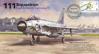 RAF cover signed MOLLAND English Electric Lightning 111 Squadron AV600