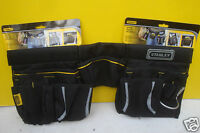 STANLEY MULTI POCKET POUCH TOOL BELT APRON & HAMMER LOOP 1 96 178 + 6 PENCILS