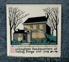 Washington Headquarters Valley Forge 1777 ceremac tile