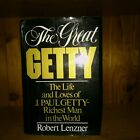 The Great Getty by Robert Lenzner HC/DJ 1st American Ed