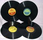 Lot of 4 Disney & Kelloggs 33 rpm childrens records