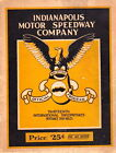 1925 INDIANAPOLIS 500 OFFICIAL PROGRAM - INDY 500 Pete DePaolo WINNER