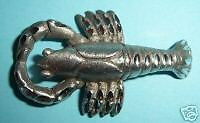 Spoontiques Pewter Lobster Figurine