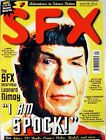 1996 SFX Magazine #8- British- Leonard Nimoy, X-men