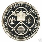 CAYMAN ISLANDS ND (1993) 5 DOLLARS SILVER PROOF