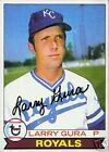 LARRY GURA 1979 TOPPS AUTO  BASEBALL CARD PSA/DNA