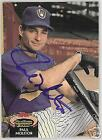 PAUL MOLITOR 1992 TOPPS AUTO  BASEBALL CARD  PSA/DNA