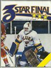Noember 26, 1986 Blues vs Devils Program--Wamsley