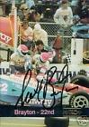 SCOTT BRAYTON AUTOGRAPHED 1993 HI-TECH RACING CARD
