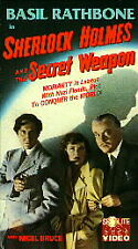 Sherlock Holmes and the Secret Weapon (VHS)