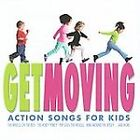 NEW GET MOVING ACTION SONGS FOR KIDS MUSIC CD