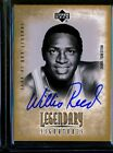 WILLIS REED 2000-01 NBA LEGENDS ON CARD AUTOGRAPH