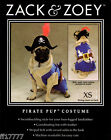 ZACK  ZOEY Dog Clothes Chihuahua Puppy PIRATE PUP Halloween COSTUME XS X Small