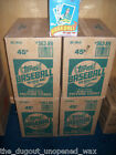 1989 TOPPS BASEBALL UNOPENED 20 BOX WAX CASE! 720 TOTAL WAX PACKS! 10,800 CARDS!